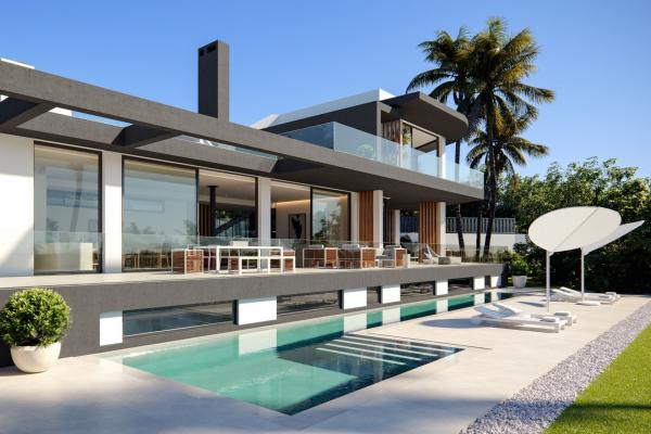 6 Bedroom, 6 Bathroom Villa For Sale in Las Lomas del Marbella Club, Golden Mile